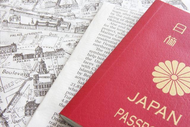 パスポートと書類