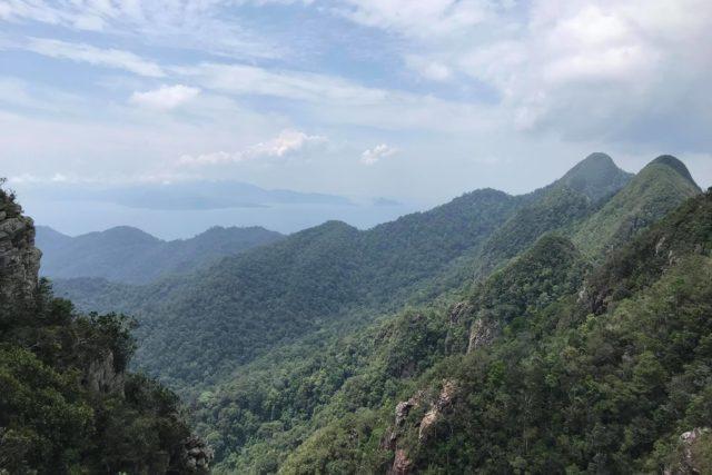 ランカウイ島七段の滝